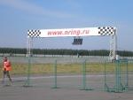 Недалеко от Дзержинска проводят авто и мото гонки.